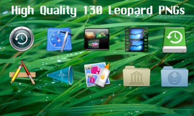 130 Leopard Icons