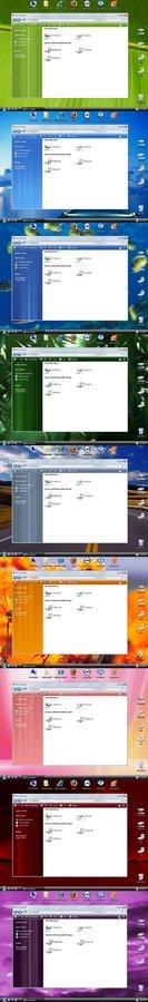 O melhor Pack de Visual Style para WindowsXP