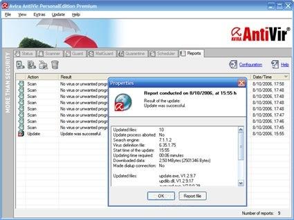 Avira AntiVir PE Premium Suite 8 Beta3