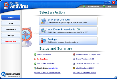 PC Tools AntiVirusFree