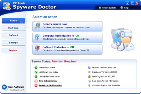 Spyware Doctor 5.5.0.178