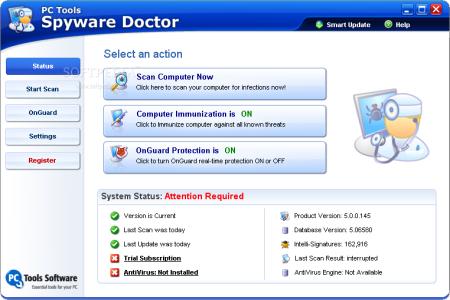 Spyware Doctor5.5.0.178